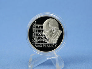10 Euro BRD 2008 F , Max Planck , 925 Silber *PP/Proof