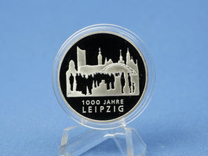 10 Euro BRD 2015 F, 1000 Jahre Leipzig , 625 Silber *PP/Proof
