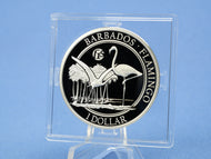 Barbados 1 Dollars 2016 , Flamingo *F 15 *, 1 Oz Silber 999 , * PP/Proof*