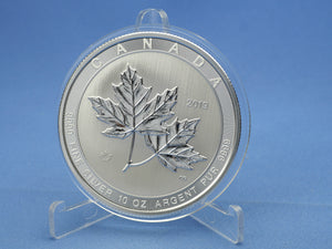 Kanada 50 Dollars 2019 , Maple Leaf, 10 oz 999 Silber *st*
