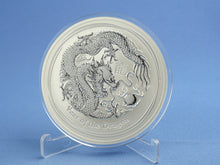 Laden Sie das Bild in den Galerie-Viewer, Australien 10 Dollars 2012 Lunar II Year of the Dragon 10 oz 999 Silber *st*