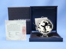 Load image into Gallery viewer, China 50 Yuan  Panda 2021 150 Gramm 999 AG / Silber * Proof * mit OVP Box und COA