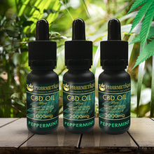 Load image into Gallery viewer, CBD Oil - Peppermint 20ml