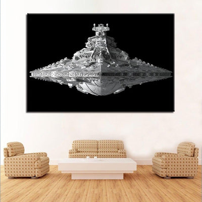 TOILE STAR WARS<BR> DESTROYER