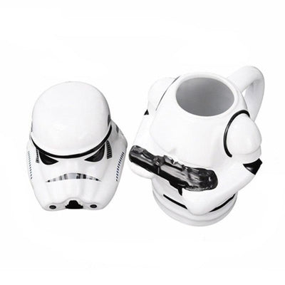 MUGS STAR WARS<BR> STORMTROOPER AVEC COUVERCLE