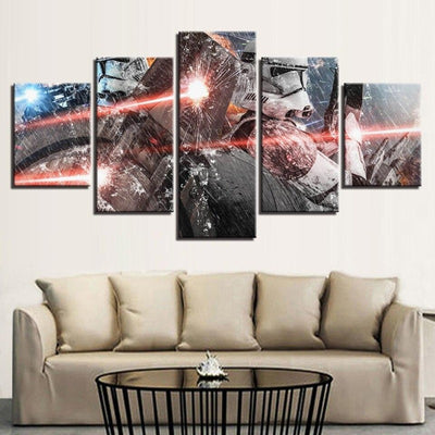 toile star wars 5 pieces