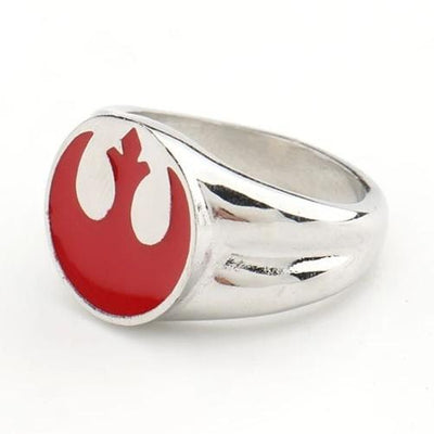 bague rebelle star wars rouge