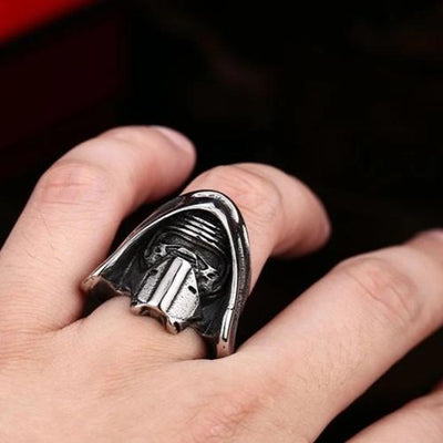 BAGUE STAR WARS<BR> KYLO REN