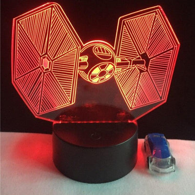 LAMPE STAR WARS<BR>CHASSEUR TIE