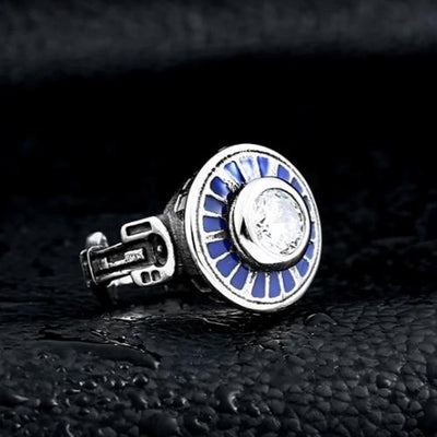 BAGUE STAR WARS<BR> R2D2