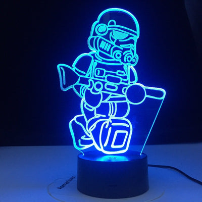 LAMPE STAR WARS<BR>MINI STORM