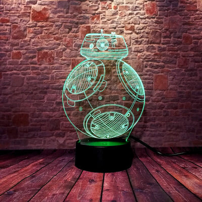lampe bb8 star wars