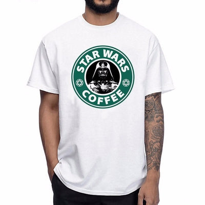 T-SHIRT STAR WARS<BR> DARK VADOR (STARBUCKS)