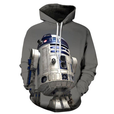 SWEAT STAR WARS<BR>R2D2
