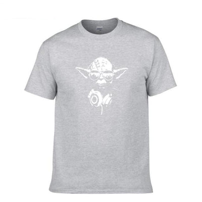 T-SHIRT STAR WARS<BR>MAÎTRE YODA DJ
