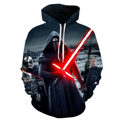 SWEAT STAR WARS<BR>KYLO REN