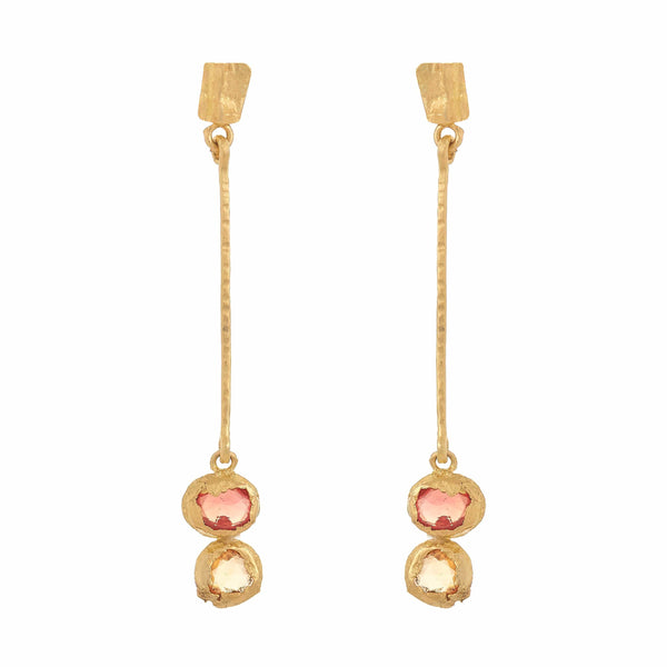 KUUTAR Long Drop Earrings