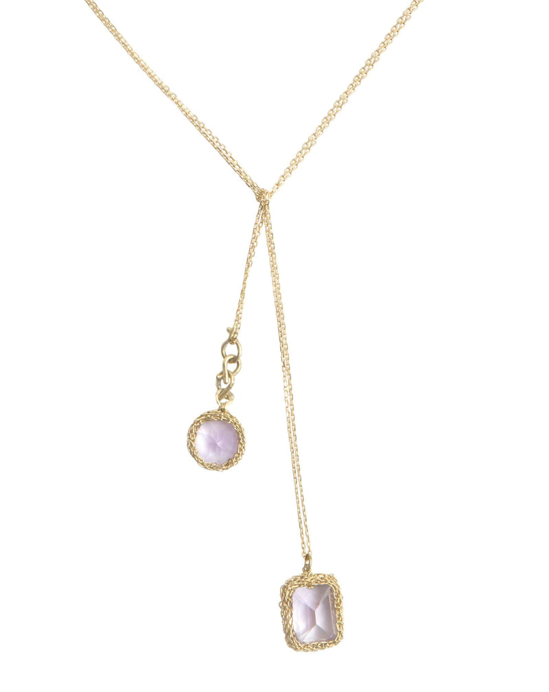 ANTOINETTE LARIAT NECKLACE