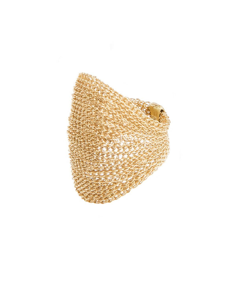 LARI Wide Mesh Ring