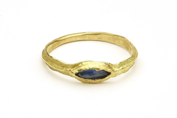 VIRVA Sapphire Marquise Ring