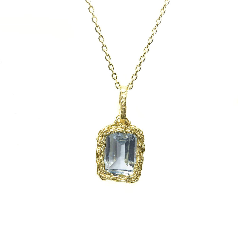 OCTAVIA Small Gold Pendant