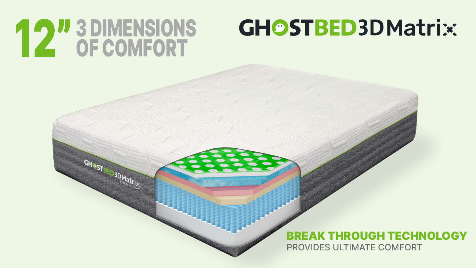 GhostBed 3D Matrix