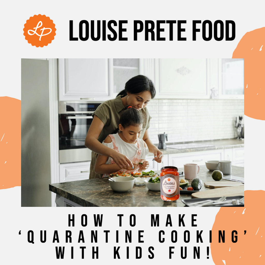 How to make 'Quarantine Cooking' With Kids Fun!