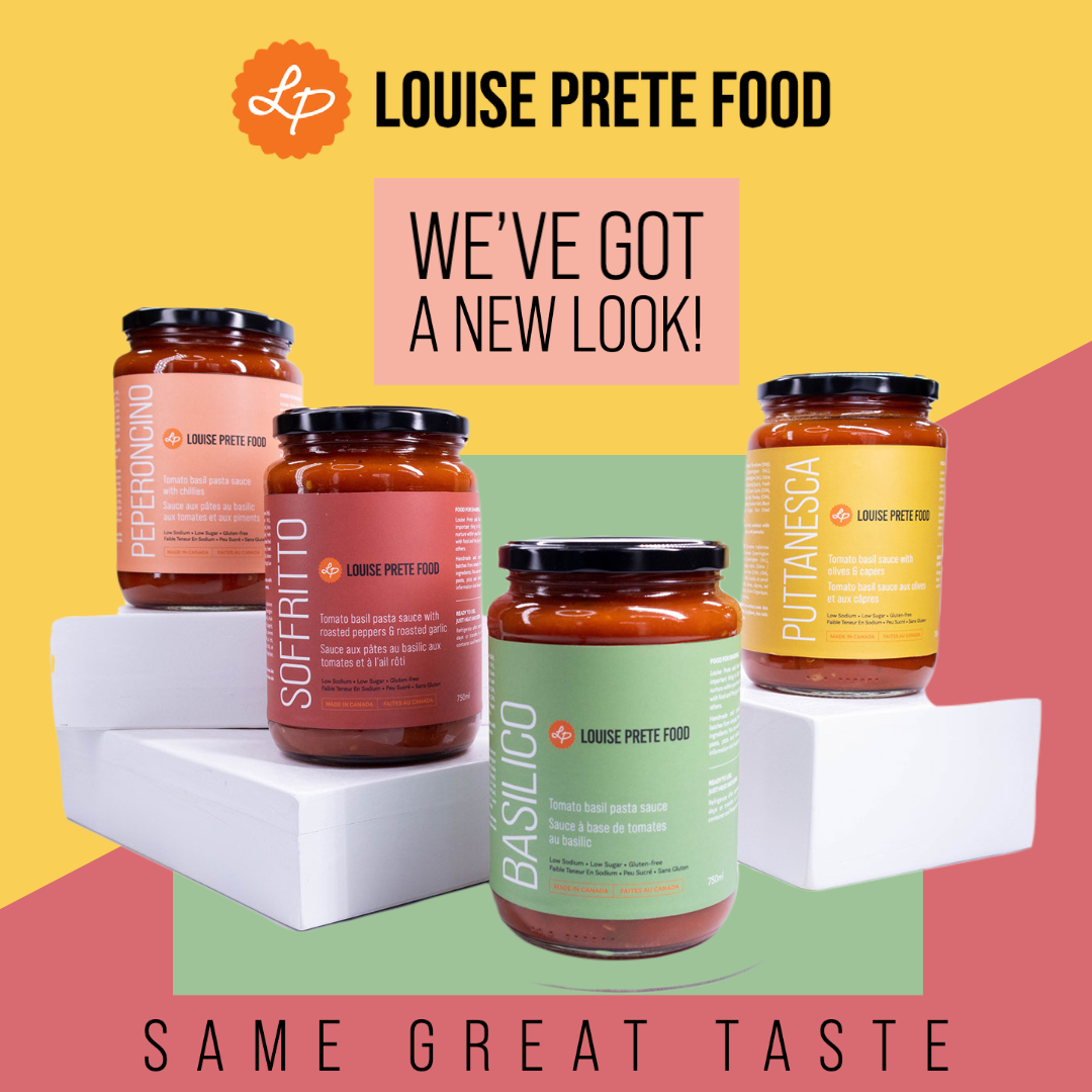 Louise Prete Food Pasta Sauce New Look Four Flavours Basilico Peperoncino Puttanesca Soffritto