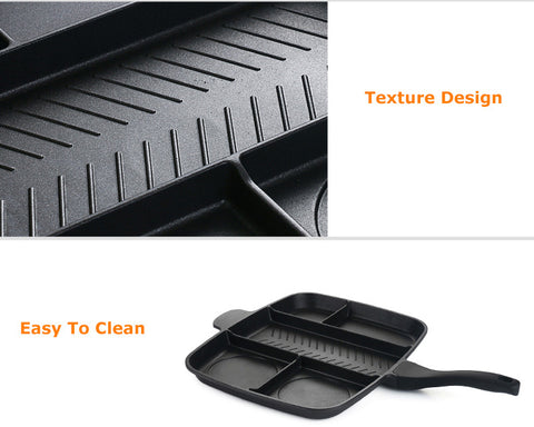 5 in 1 non stick grill pan 3