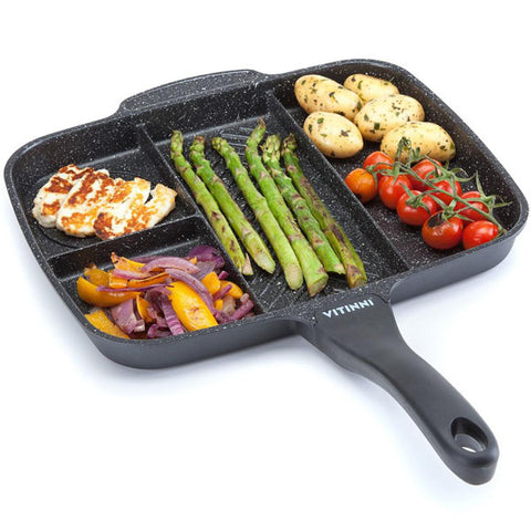 5 in 1 non stick grill pan 1