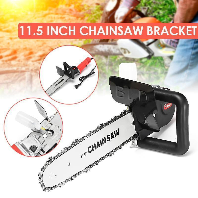 Heavy Duty Angle Grinder + Chainsaw Attachment