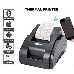 Xprinter 58mm Thermal Cash Receipt pos mini Printer with Bluetooth