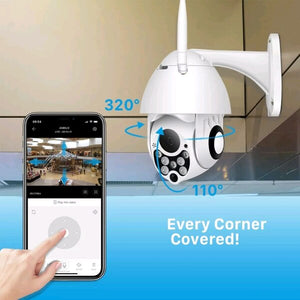 OUTDOOR SMART CCTV CAMERA (HOME & BUSINESS SECURITY)