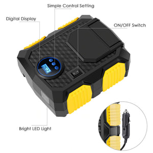 Portable Digital Air Compressor Pump