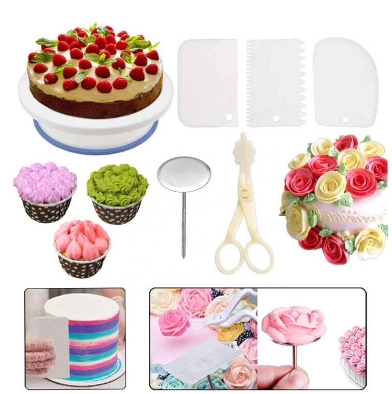 137PCS Russian Cake Decorating Supplies Kit (TOP GRADE QUALITY)