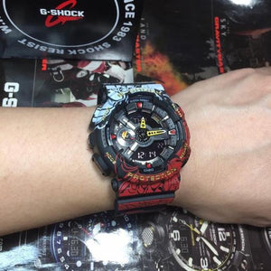 LIMITED EDITION - ONE PIECE X G-SHOCK (GURANTEED AUTHENTIC)