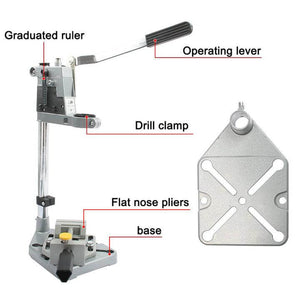 ELECTRIC DRILL STAND HOLDER (GUARANTEED HEAVY DUTY)