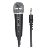 PORTABLE CONDENSER MICROPHONE SET ( WITH STAND, WINDSCREEN, FOAM COVERS, Y SPLITTER)