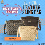 (Buy 1 Take 1 Promo) Authentic Coach Leather Sling Bag