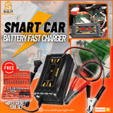 Smart Fast Battery Car/Motorcycle Charger (FREE 46PCS SOCKET TOOL SET)