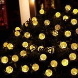 50 Solar Crystal Ball LED String Christmas Lights 7M (BUY 1 GET 1)