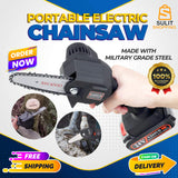 550W Portable Electric Chainsaw with Lithium Battery