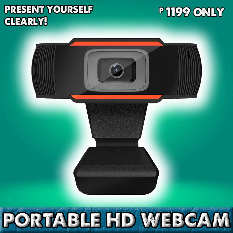 PLUG AND PLAY PORTABLE HD WEBCAM (1080P ULTRA HD )