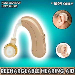Rechargeable Hearing Aid (Guaranteed High Quality)