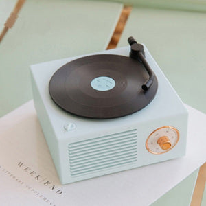 Bluetooth Speaker Retro Vinyl Record Player