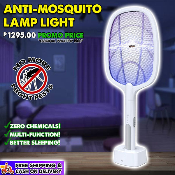 2-IN-1 Rechargeable Anti-Mosquito Lamp Light