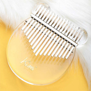 Crystal Clear Glass Kalimba Set
