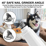 Portable Electric Pet Nail Grinder