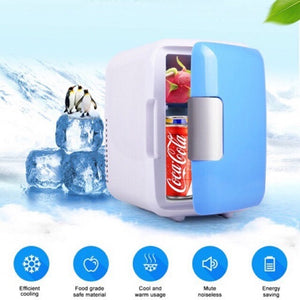 Portable 4L Cooling And Warming Mini Refrigerator