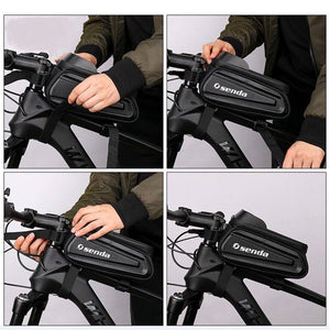 1.5L Bicycle Waterproof Saddle Bag (GET FREE BIKE HELMET + PUMP AND  HORN+LIGHT)